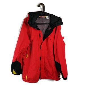 Marlboro jacket L discoloration see descriptio